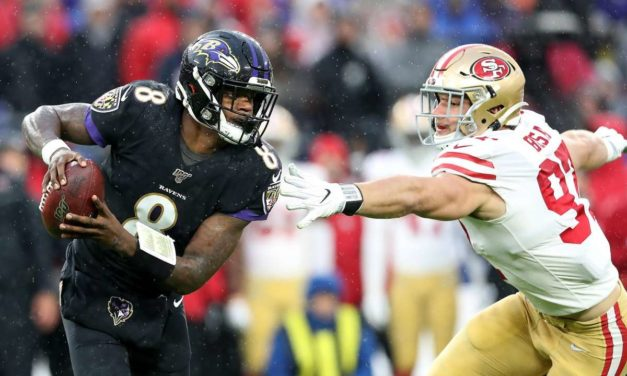 Niners Fall to Ravens in Thriller, but Prove they Can Hang with the New Favorites