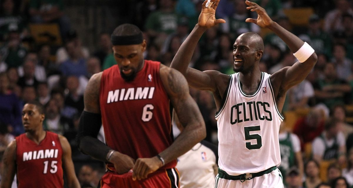 "Breaking Down Garnett's Claim that He ""Broke"" LeBron"