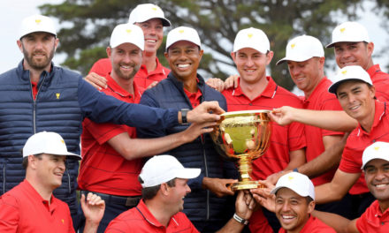 Captain Tiger Leads U.S. Team to Presidents Cup Comeback Win
