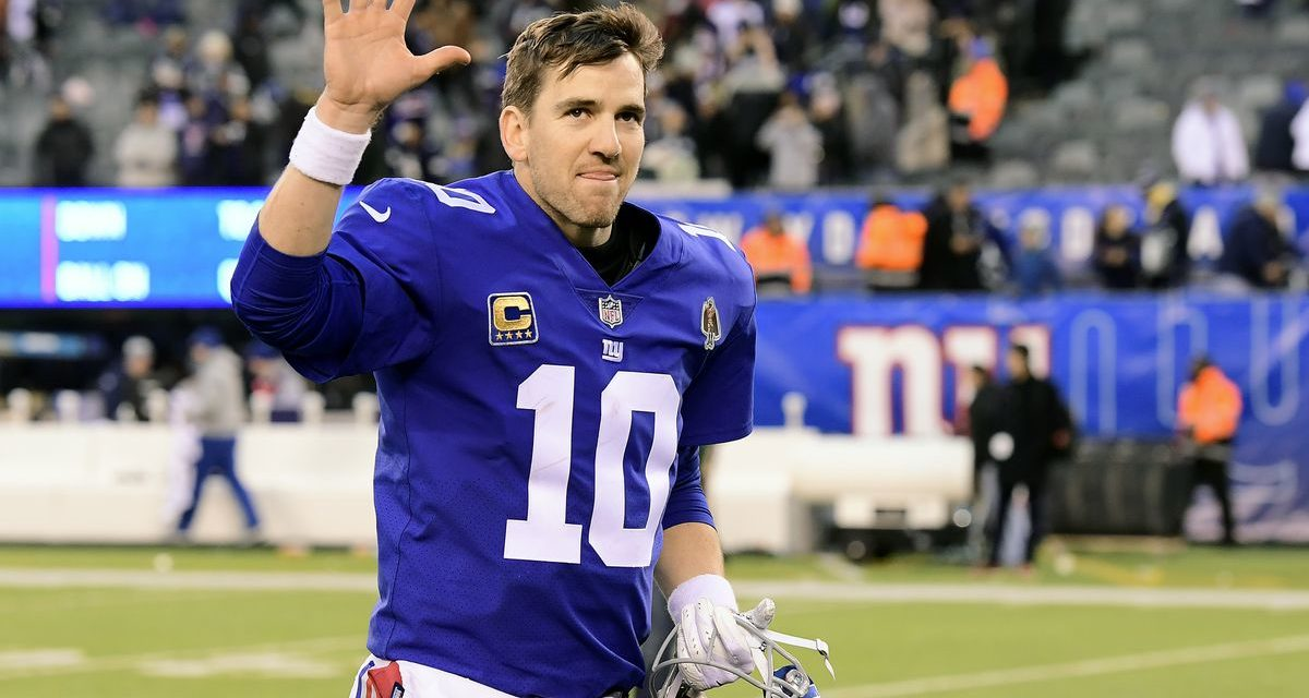 Eli Manning: Saying Goodbye to a Great