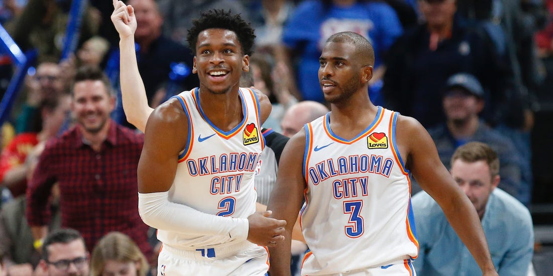 The Improbable Rise of Shai and the Thunder
