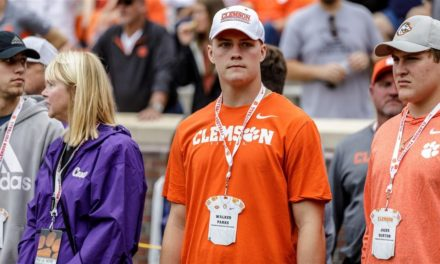 Interview with 2020 4-Star OT and Clemson commit: Walker Parks
