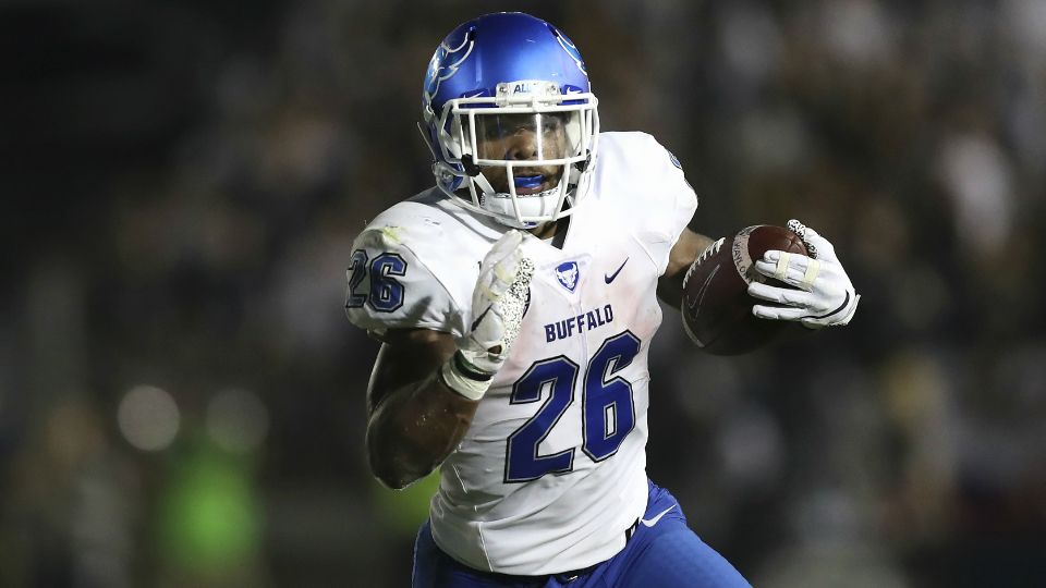 Interview with University of Buffalo RB: Jaret Patterson