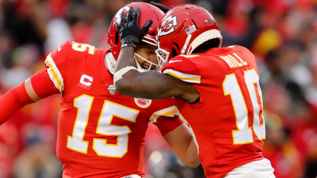Ranking the Top 10 QB + WR Duos in the NFL