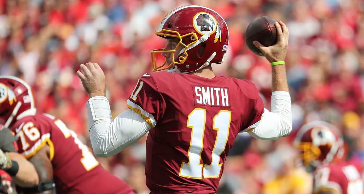 What Alex Smith's Clearance Means for Washington at QB