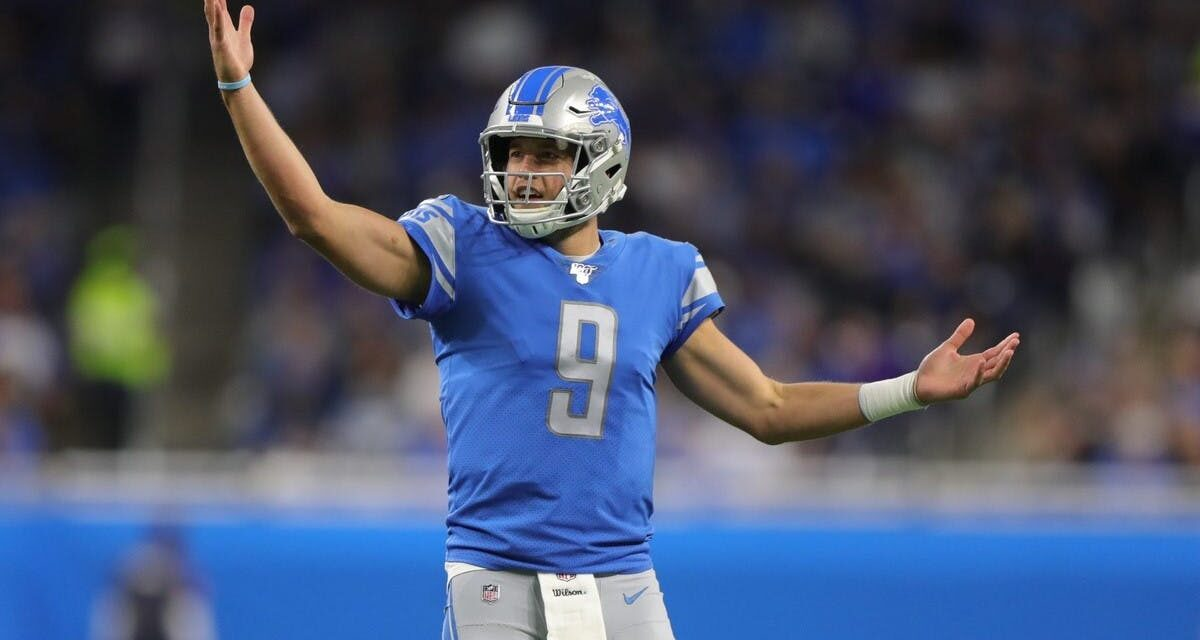 Matthew Stafford: A Hidden Fantasy Draft Gem