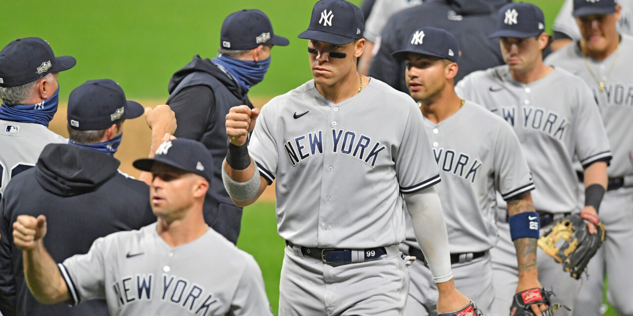 Yankees Take Down Indians In Two Games, Advance To ALDS
