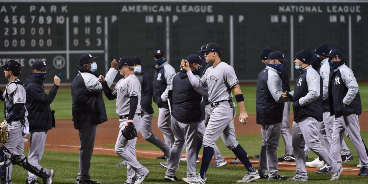 Yankees Take Two of Three In Weekend Series At Fenway Park