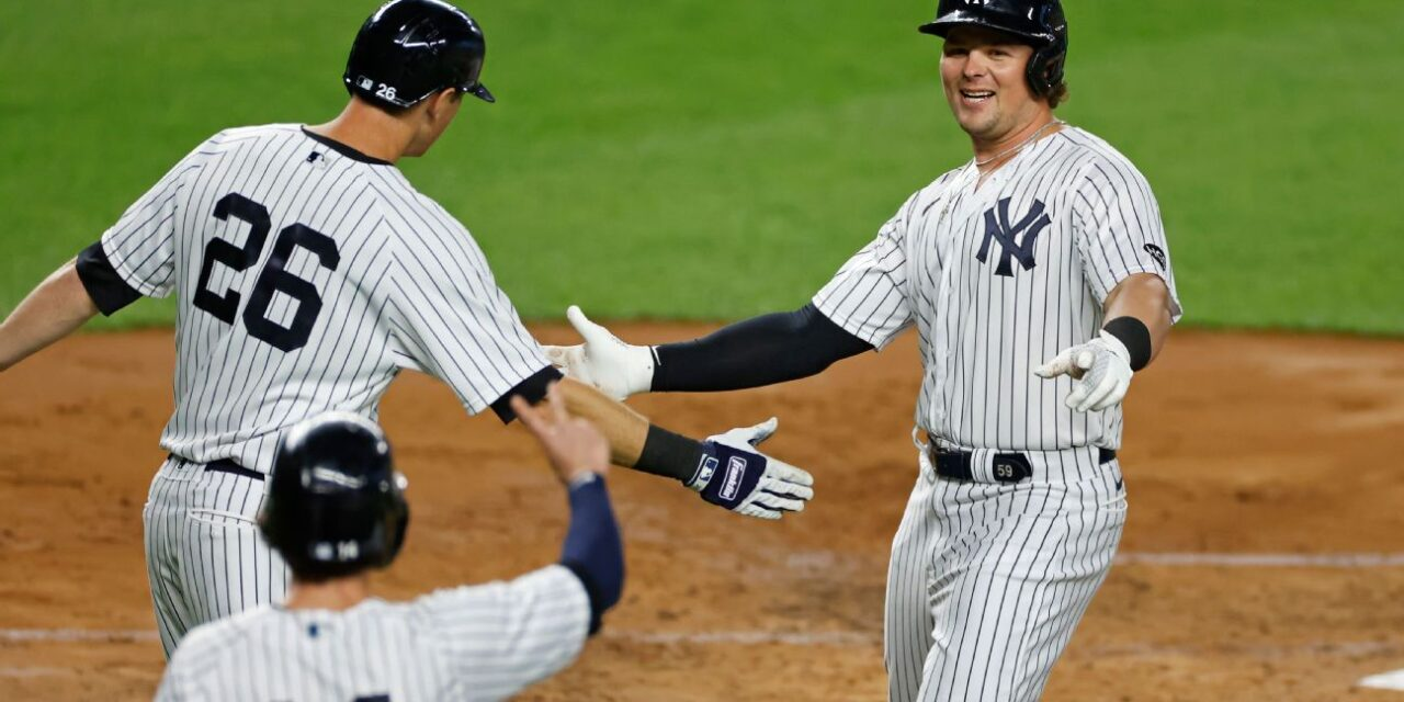 Yankees Outscore Toronto 43-18 En Route To Series Sweep: Offensive Downpour in The Bronx