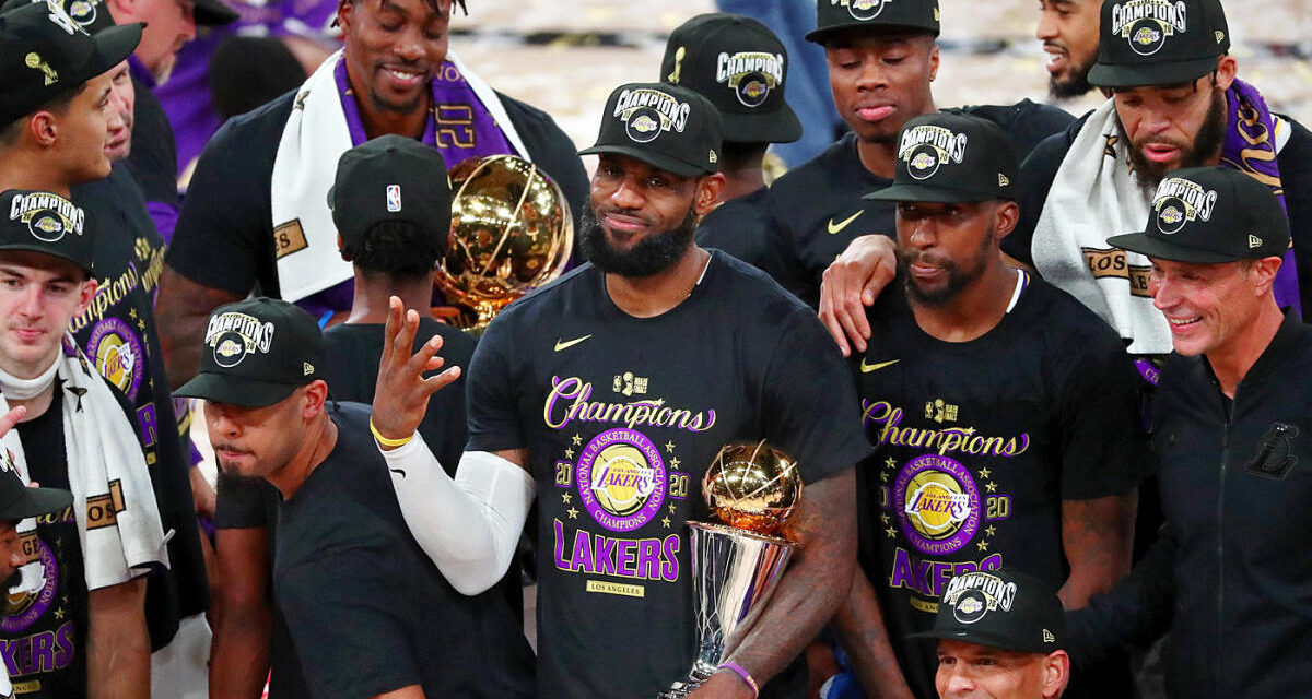The Job is Finally Finished: The Lakers are NBA Champions