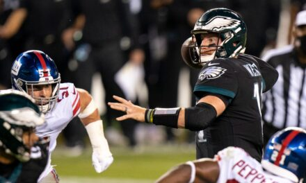 Eagles Decimated By Daniel Jones and The Giants In Week 10, 27-17