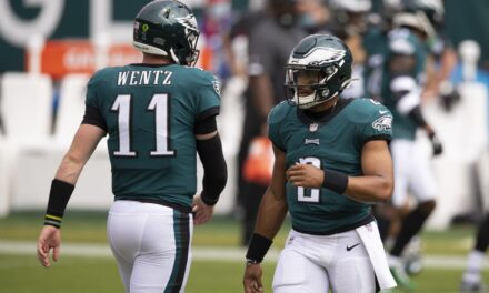 Why Benching Carson Wentz was the Right Move for the Eagles