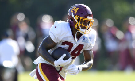 Antonio Gibson Is On The Rise