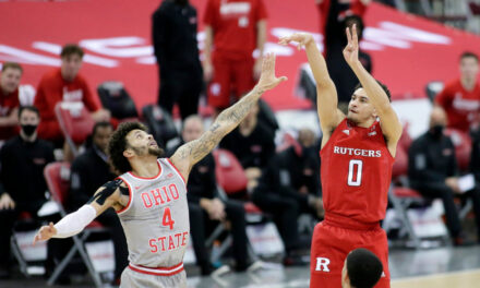 Buckeyes Second Half Surge Too Much for #11 Rutgers