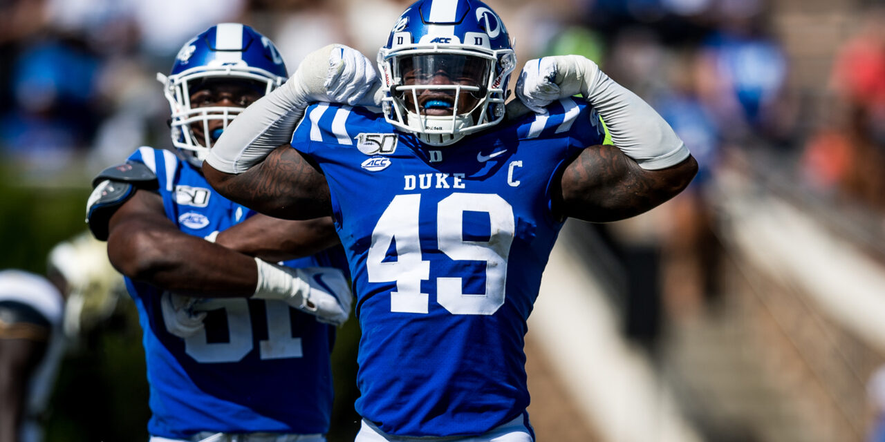 Be Where Your Feet Are: An Interview with Duke LB Koby Quansah