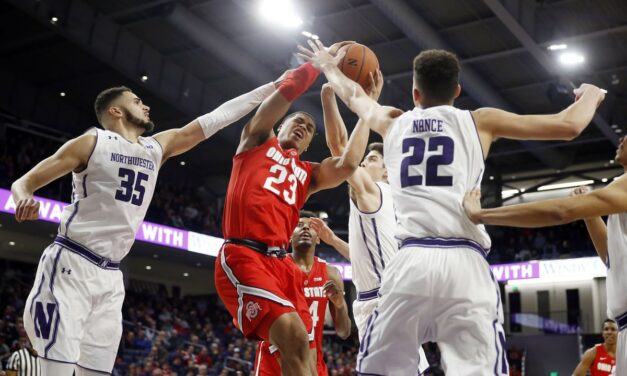Ohio State Collapses Late, Falls to Northwestern 71-70