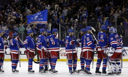 Analyzing The New York Rangers' Competition In The East Division