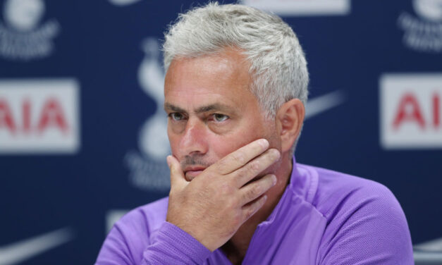 Mourinho In: Why Tottenham's Devastating Poor Run of Form shouldn't Sack the Manager