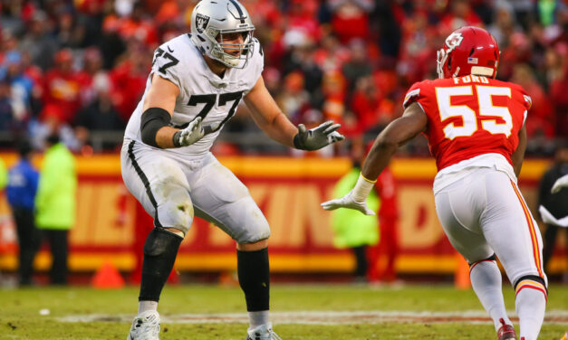 Looking at the Raiders' Offensive-Line for 2021