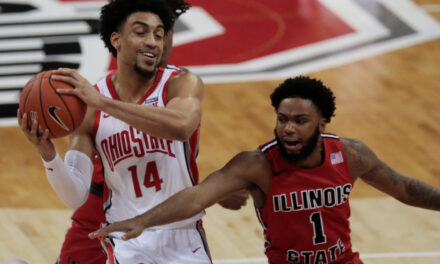 Buckeyes End Regular Season with a Senior Night Loss