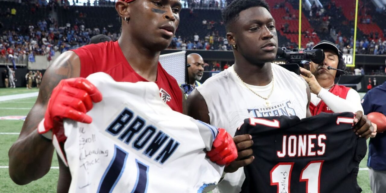 With Julio Jones On the Titans, Who Are the Top 5 WR Duos In the NFL?